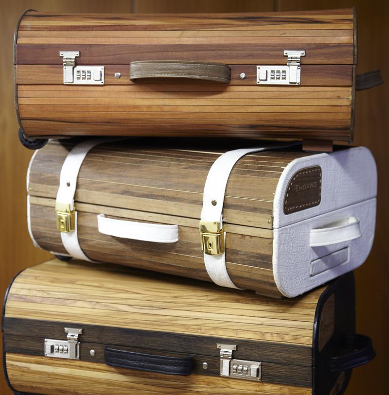 taschen und koffer aus furnier sind chic und trendy. Black Bedroom Furniture Sets. Home Design Ideas